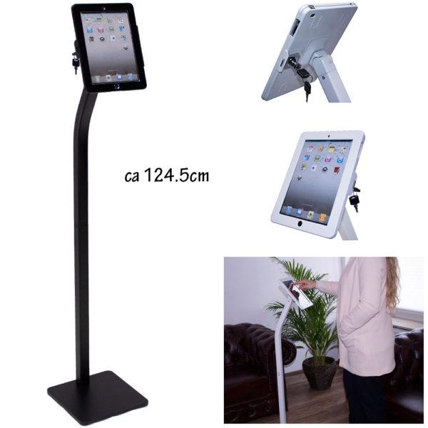 aTa iPad Bodenständer schwarz