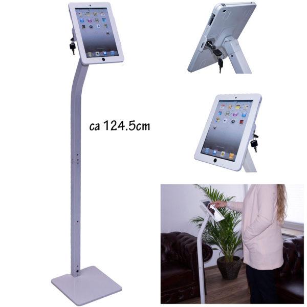 aTa iPad Bodenständer weiß