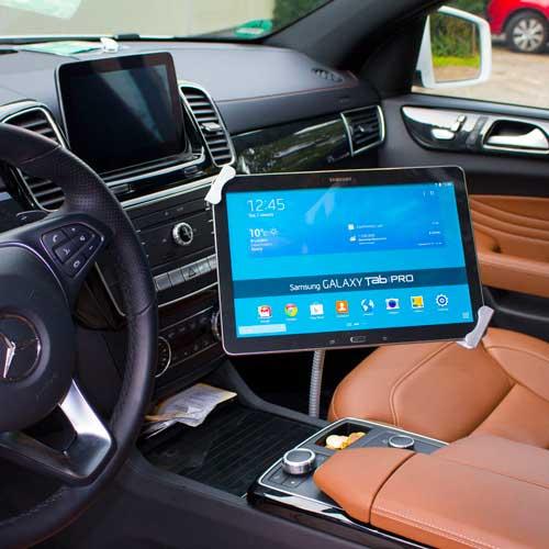 Abschließbare Tablet Autohalterung 6