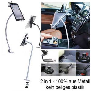 Schwanenhals Tablet Autohalterung