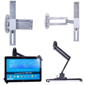 Streckbarer Arm Tablet Wandhalter