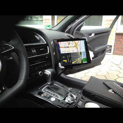 Schwanenhals Tablet Autohalterung 7