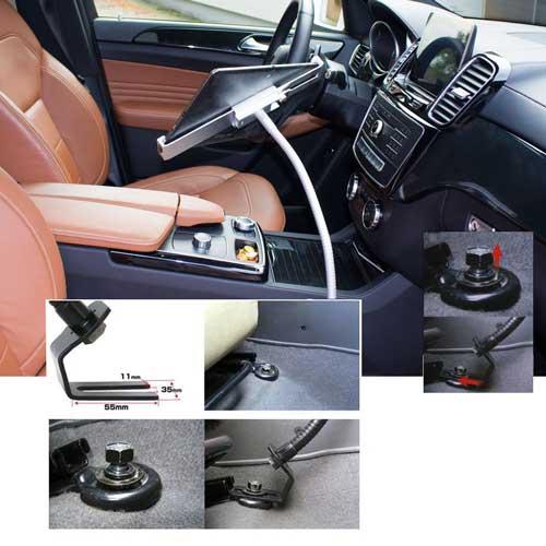 Abschließbare Tablet Autohalterung 4